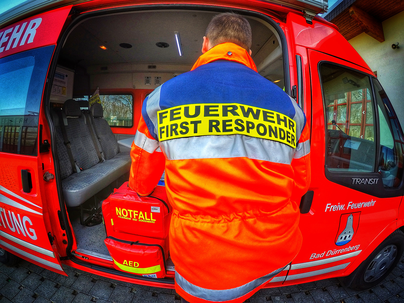 First Responder / Ersthelfer
